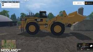 Caterpillar 994F for Silage
