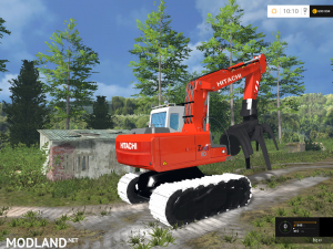 Hitachi ZX110 Forest, 4 photo