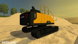Volvo ec300e Long Reach v 1.1, 5 photo
