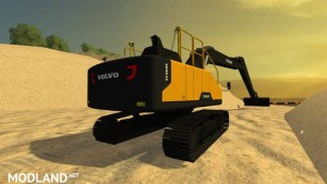 Volvo ec300e Long Reach v 1.1, 1 photo