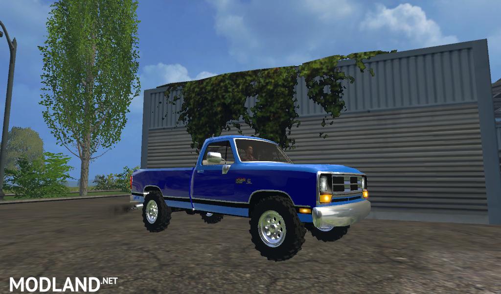Dodge D250 mod for Farming Simulator 2015 / 15 | FS, LS 2015 mod