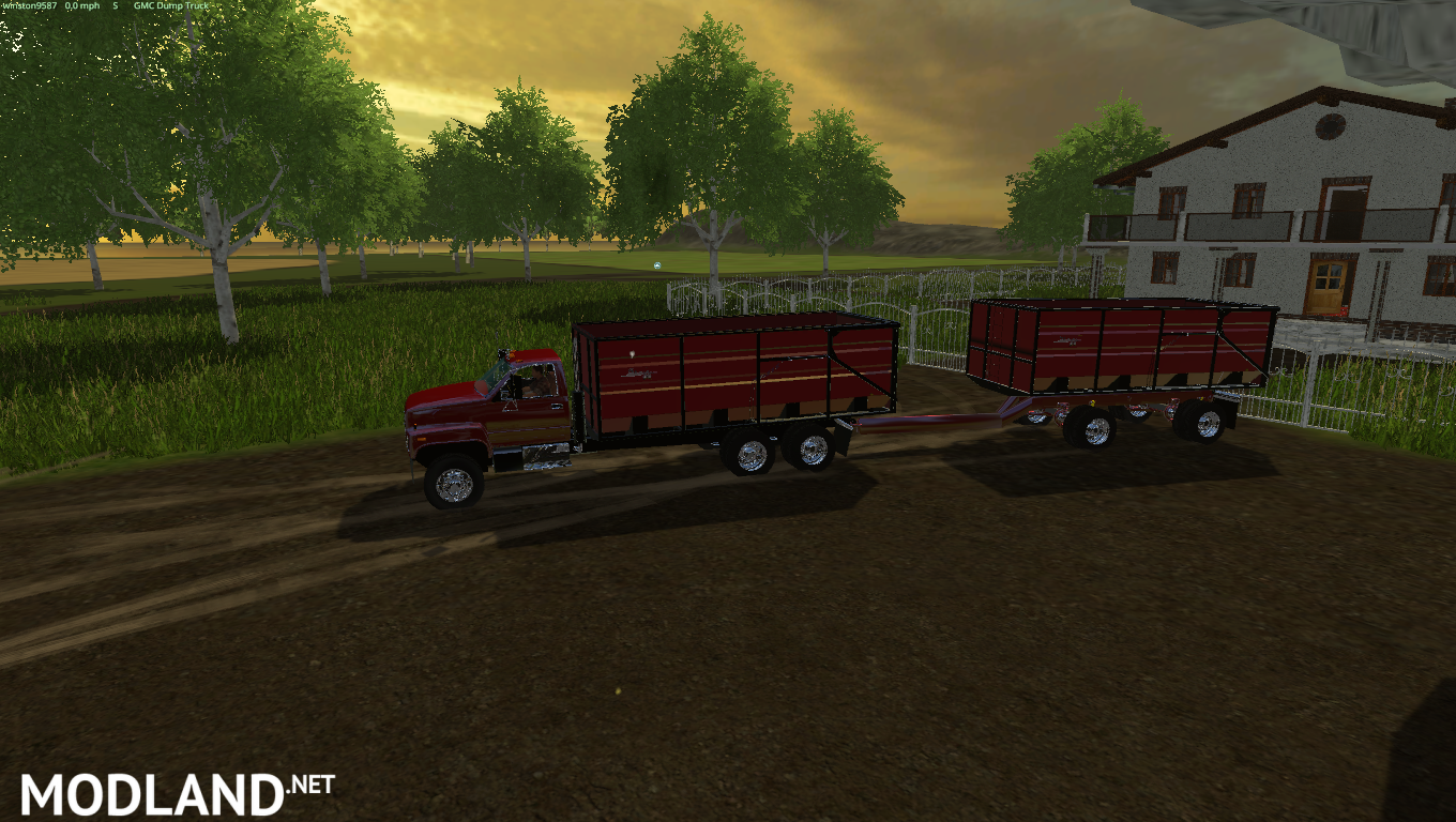 GMC Truck and Trailer Pack mod for Farming Simulator 2015 ...