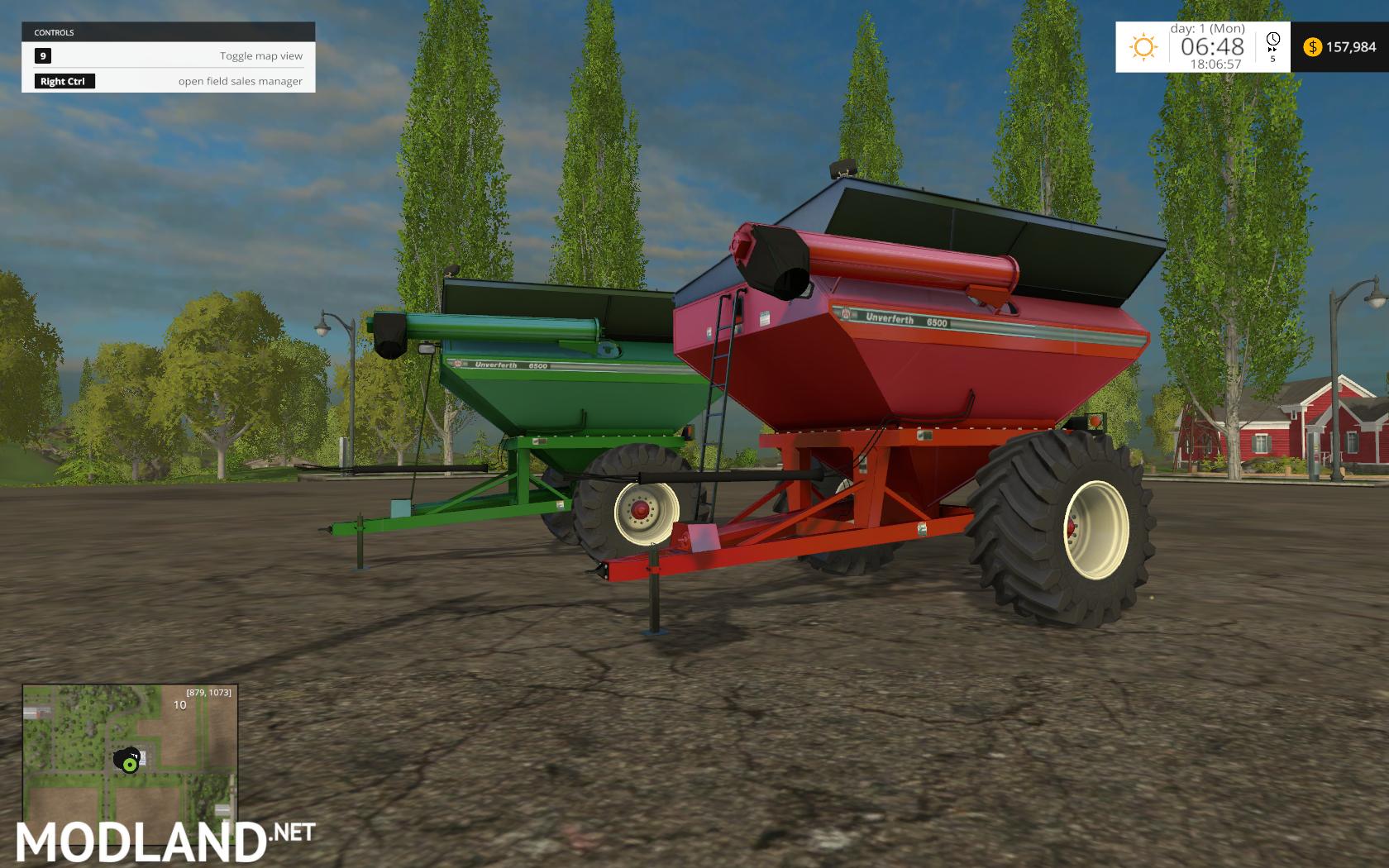 John Deere Air Seeder Pack V 1 0 Mod Farming Simulator 17 Auto Unverferth Wiring Diagram 6500 Grain Cart For 2015