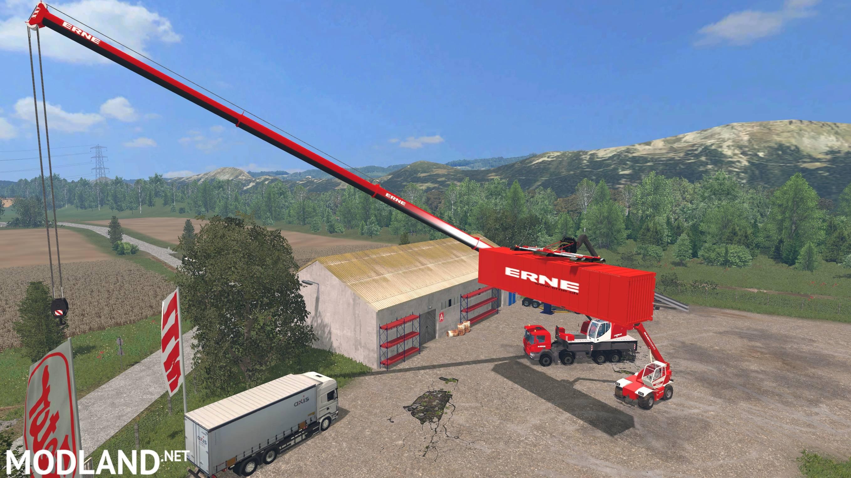 Erne Container Mod For Farming Simulator 2015 15 Fs