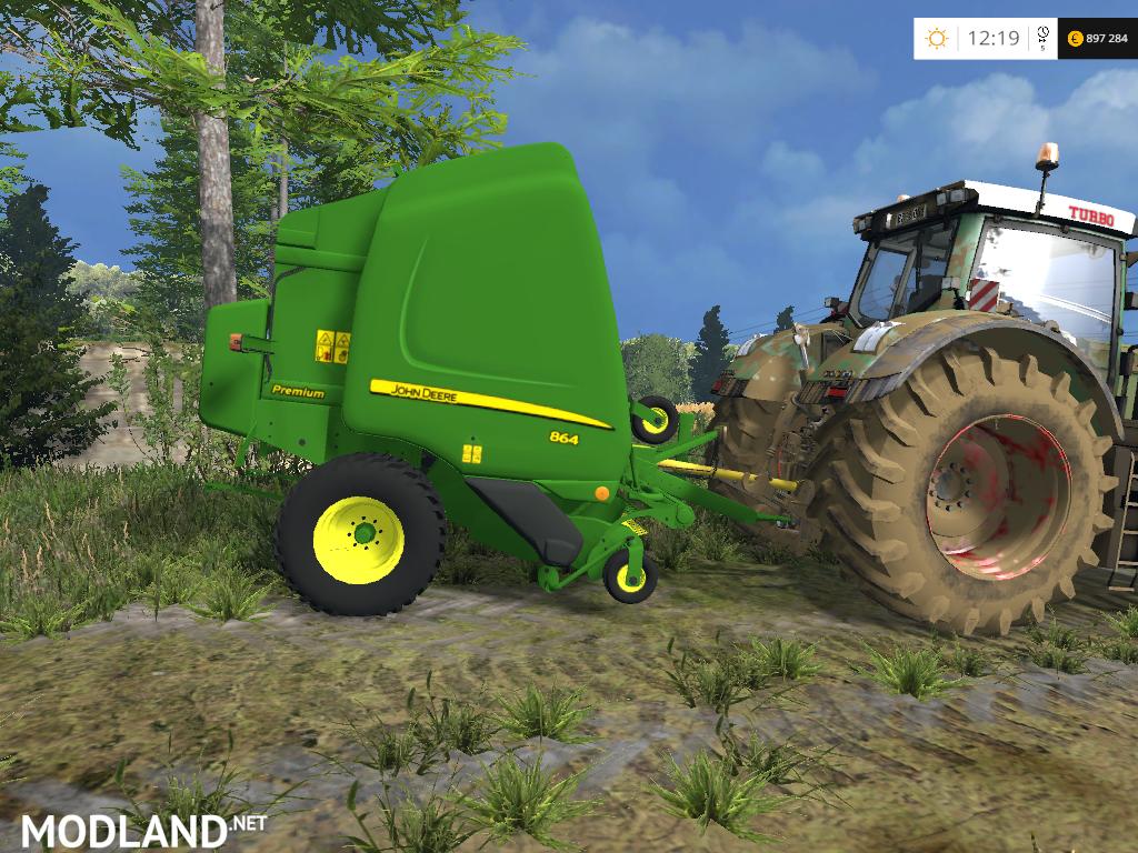 John Deere 864 Premium Baler V 1 0 Mod For Farming