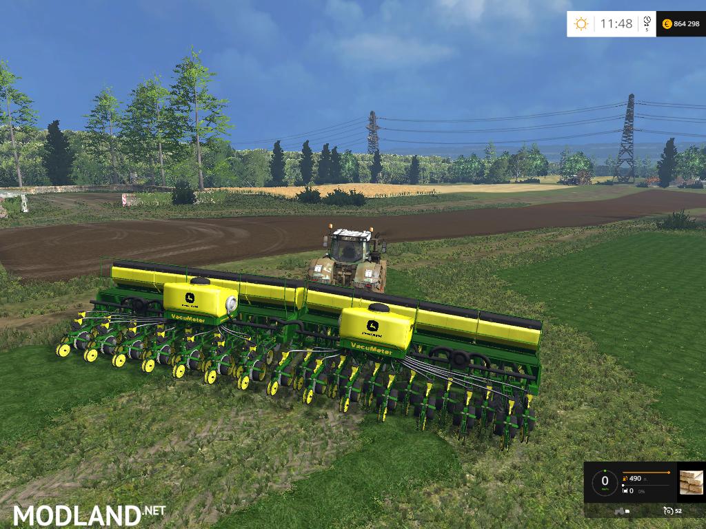 John Deere 2130 Ccs Plantadeira V 1 2 Mod For Farming