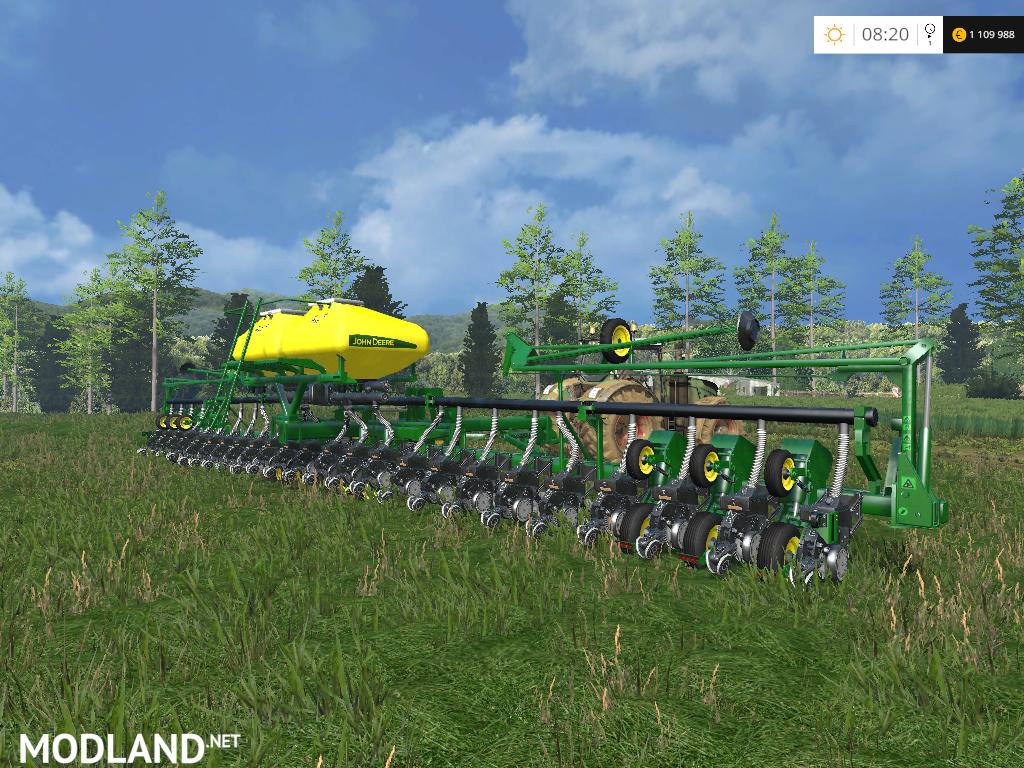 John Deere 24 Row Air Planter mod for Farming Simulator 2015