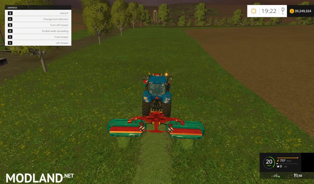 Kverneland Mower Set Mod For Farming Simulator 2015 15