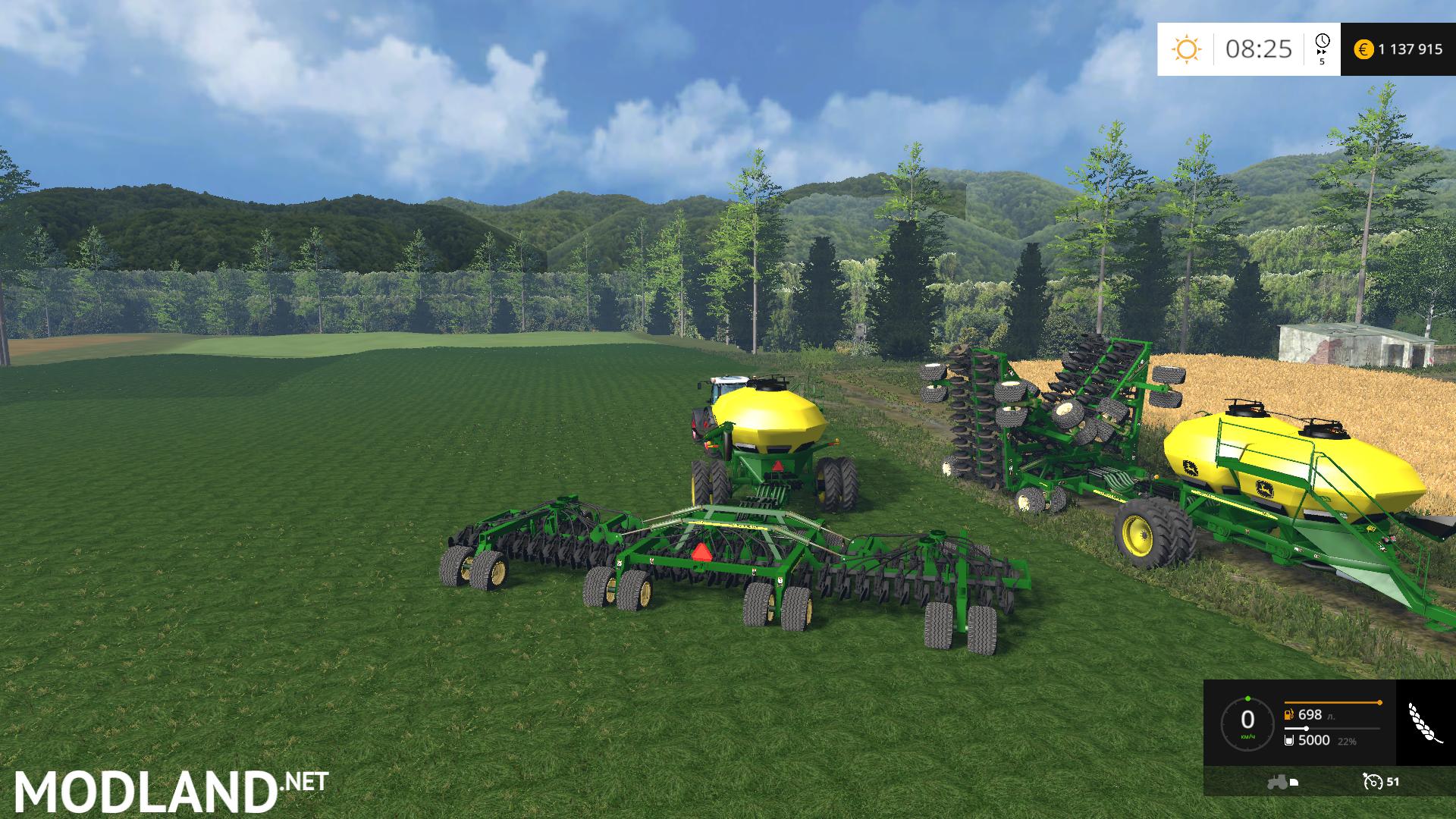 John Deere Air Seeder Pack V6 mod for Farming Simulator ...