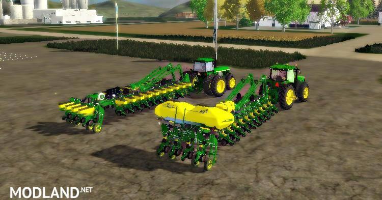 John Deere Planters Pack mod for Farming Simulator 2015 / 15   FS, LS 2015 mod