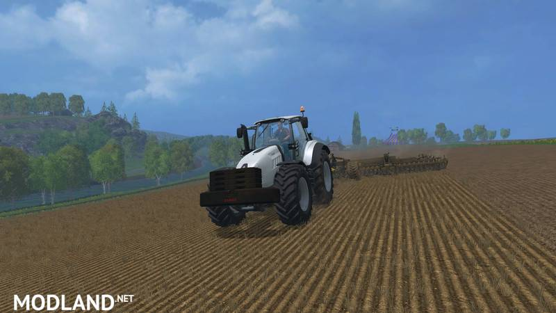 Claas Xerion Additional Weights