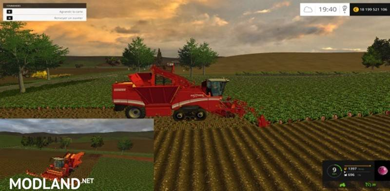 Grimme Maxtron620 Multifruits