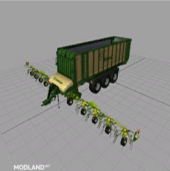 2 in 1: Mower and Collector Trailer