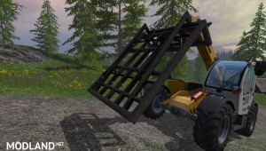 Bressel and Charging Square Bale Grab v 1.0, 6 photo