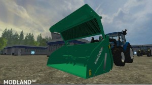 Compound feed shovel telescopic handlers v 1.0, 1 photo