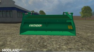 Compound feed shovel telescopic handlers v 1.0, 3 photo