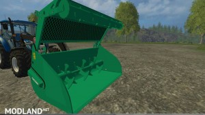 Compound feed shovel telescopic handlers v 1.0, 2 photo