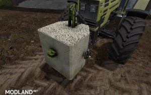 Concrete Weight 500 kg , 4 photo