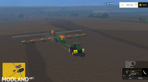 AMAZONE 48 row seeder edited by FS 2k Modding