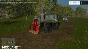 Forestry Winch - krpan winch v 1.0 BETA, 1 photo