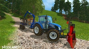 Functional Forestry Winch - krpan winch (beta) v 2.0 BETA, 11 photo