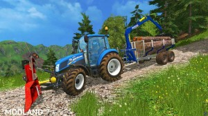 Functional Forestry Winch - krpan winch (beta) v 2.0 BETA, 1 photo