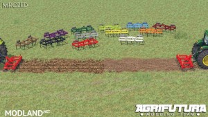 Garda 2.5 m v 2.0 Plough Colorable, 3 photo