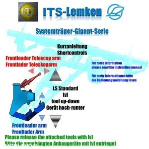 Lemken Gigant 800 carrier system v 1.0, 6 photo