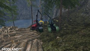 Mobile 800L diesel tank for the forest v 1.0, 2 photo