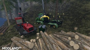 Mobile 800L diesel tank for the forest v 1.0, 1 photo