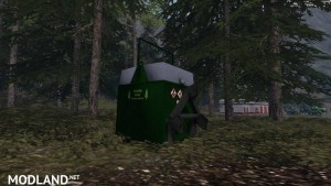 Mobile 800L diesel tank for the forest v 1.0, 4 photo