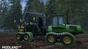 Mobile 800L diesel tank for the forest v 1.0, 6 photo