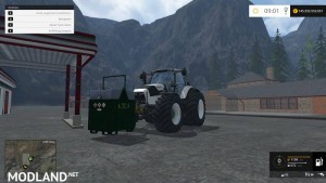Mobile 800L diesel tank for the forest v 1.0, 7 photo