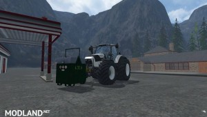 Mobile 800L diesel tank for the forest v 1.0, 8 photo