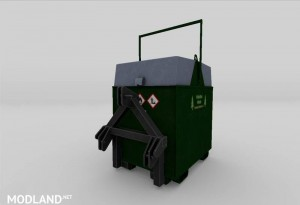 Mobile 800L diesel tank for the forest v 1.0, 3 photo