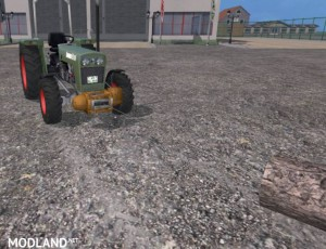 Mounted winch v 0.9 beta