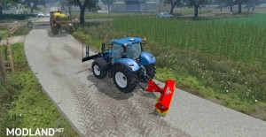 Sweeper RABAUD and Sign Slippery v 2.0, 10 photo