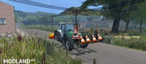 Sweeper RABAUD and Sign Slippery v 2.0, 2 photo