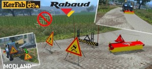 Sweeper RABAUD and Sign Slippery v 2.0, 21 photo
