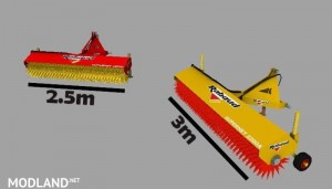 Sweeper RABAUD and Sign Slippery v 2.0, 3 photo
