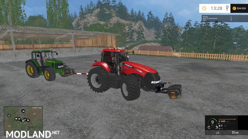 Tow Bar Mod mod for Farming Simulator 2015 / 15 | FS, LS 2015 mod