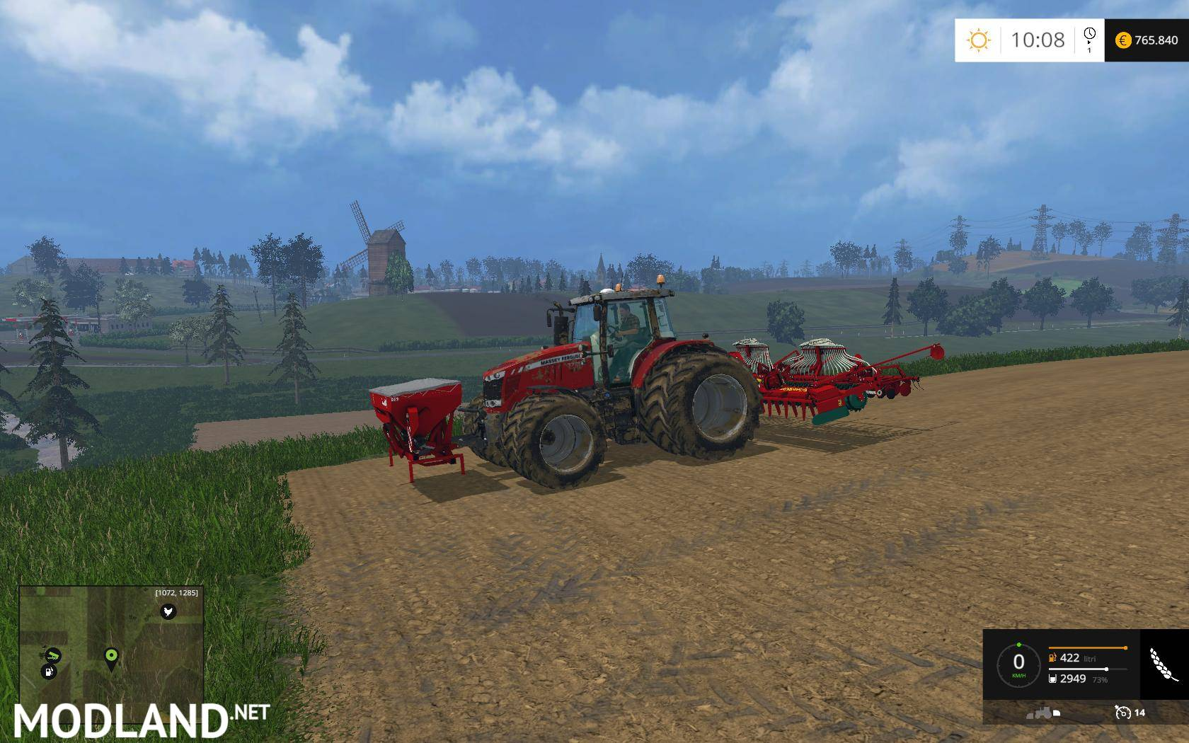 KVERNELAND NG S 601 F35 v1.0 mod for Farming Simulator ...