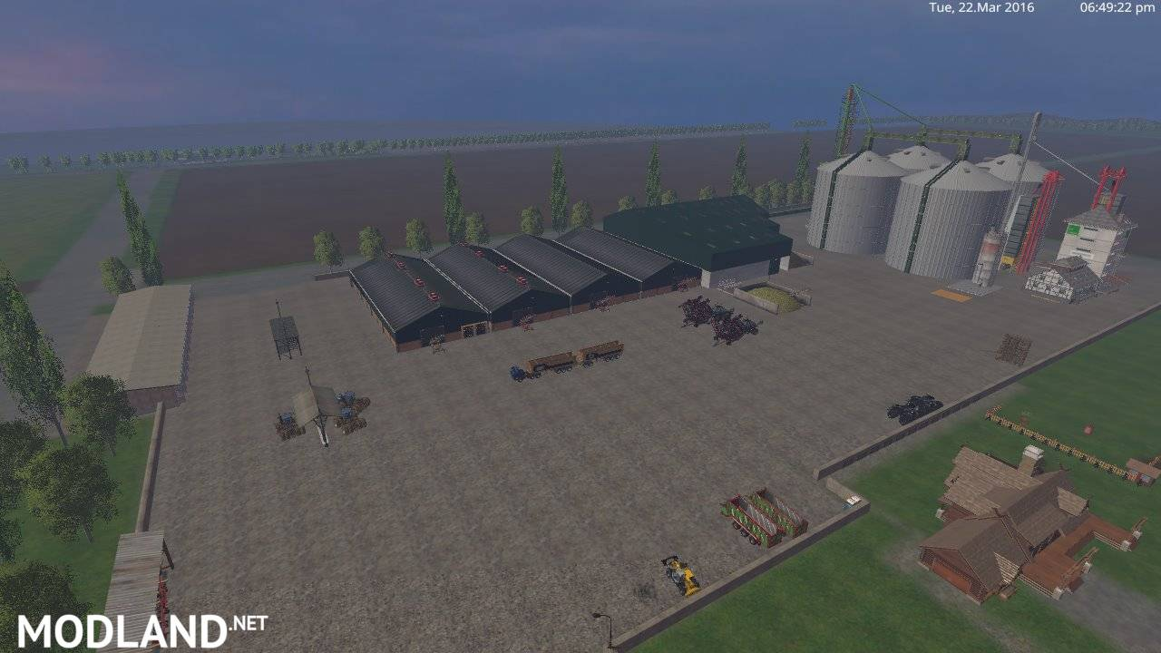 Hobbs Farm Map v 50 mod for Farming Simulator 2015 15 FS LS