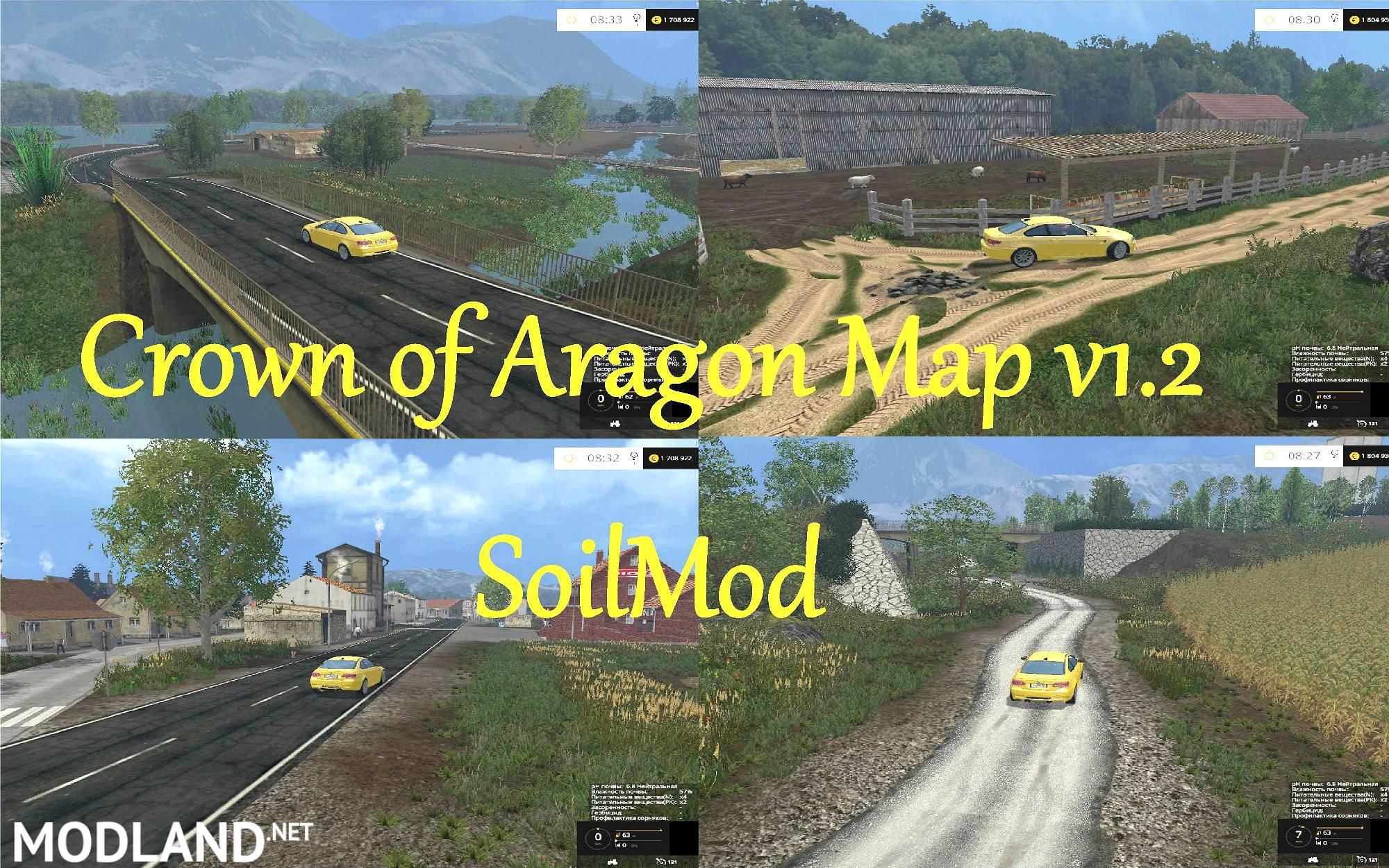 Canadian Map Farming Simulator 2015%0A Crown of Aragon Map v     SoilMod