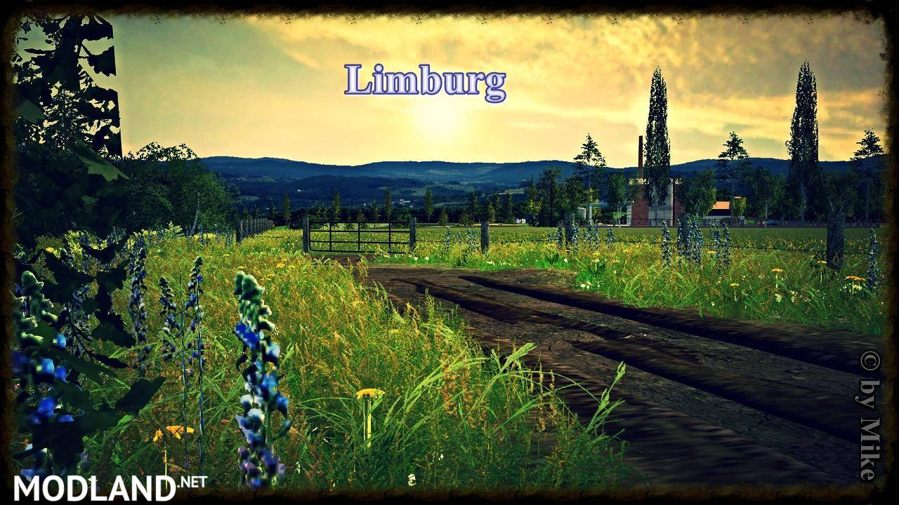 Limburg Map v 10 BETA mod for Farming Simulator 2015 15 FS LS