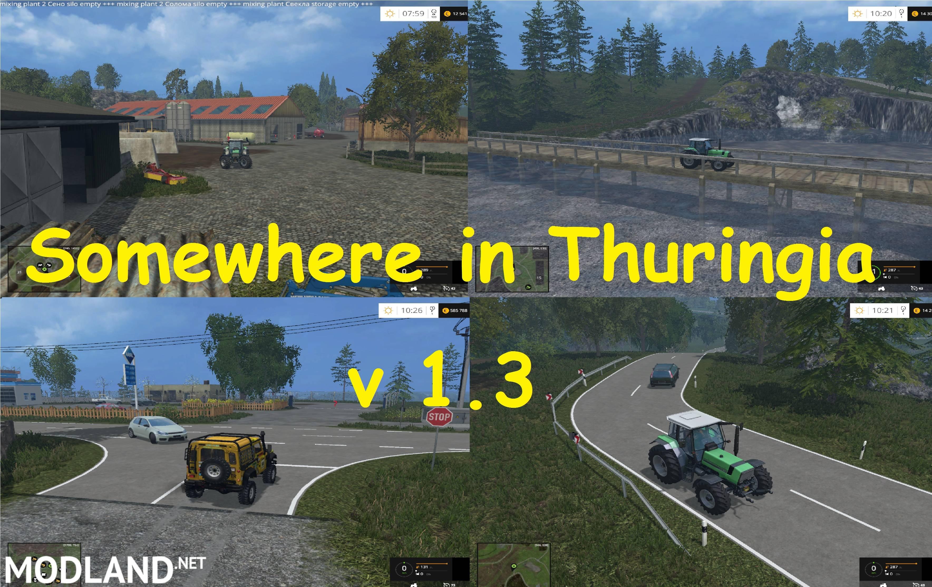 Somewhere in Thuringia v 13 mod for Farming Simulator 2015 15