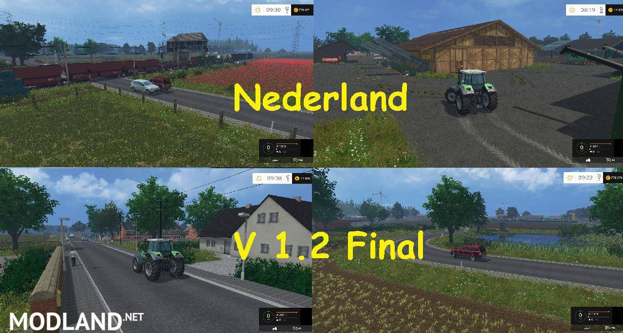 nederland map v 1 2 final mod for farming simulator 2015 15 fs