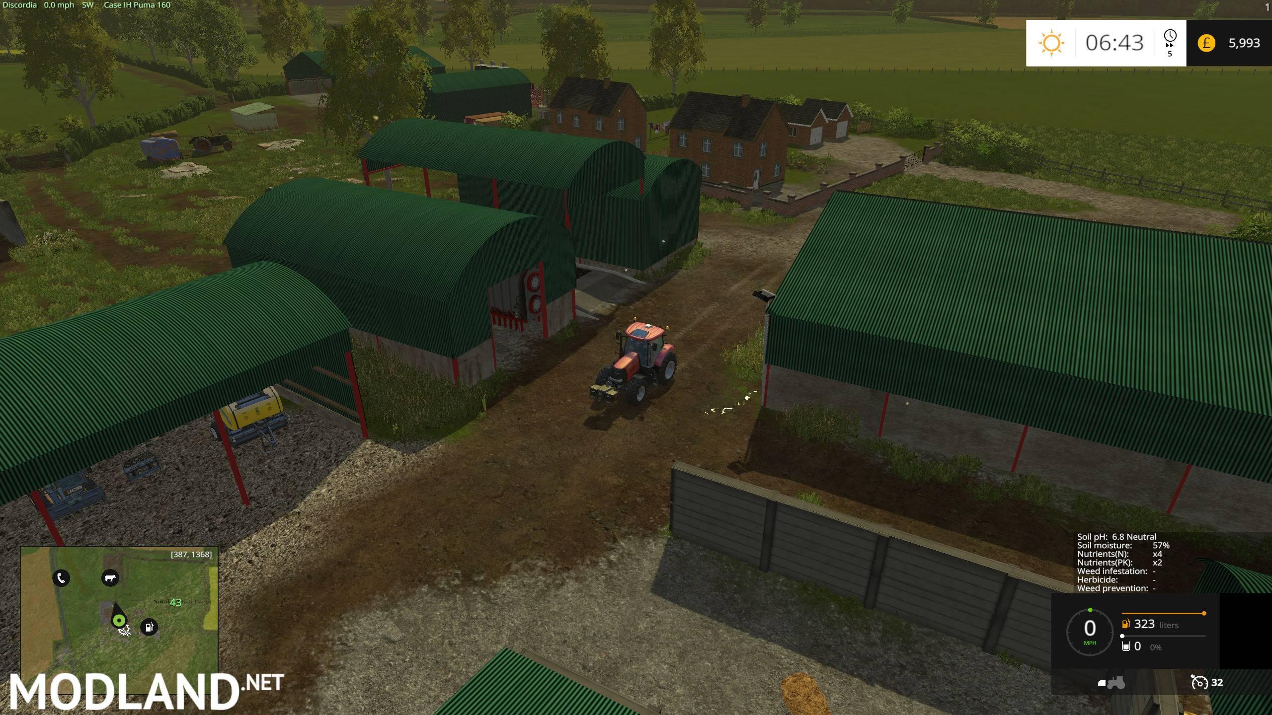 smokedown farm map mod for farming simulator 2015 15. Black Bedroom Furniture Sets. Home Design Ideas