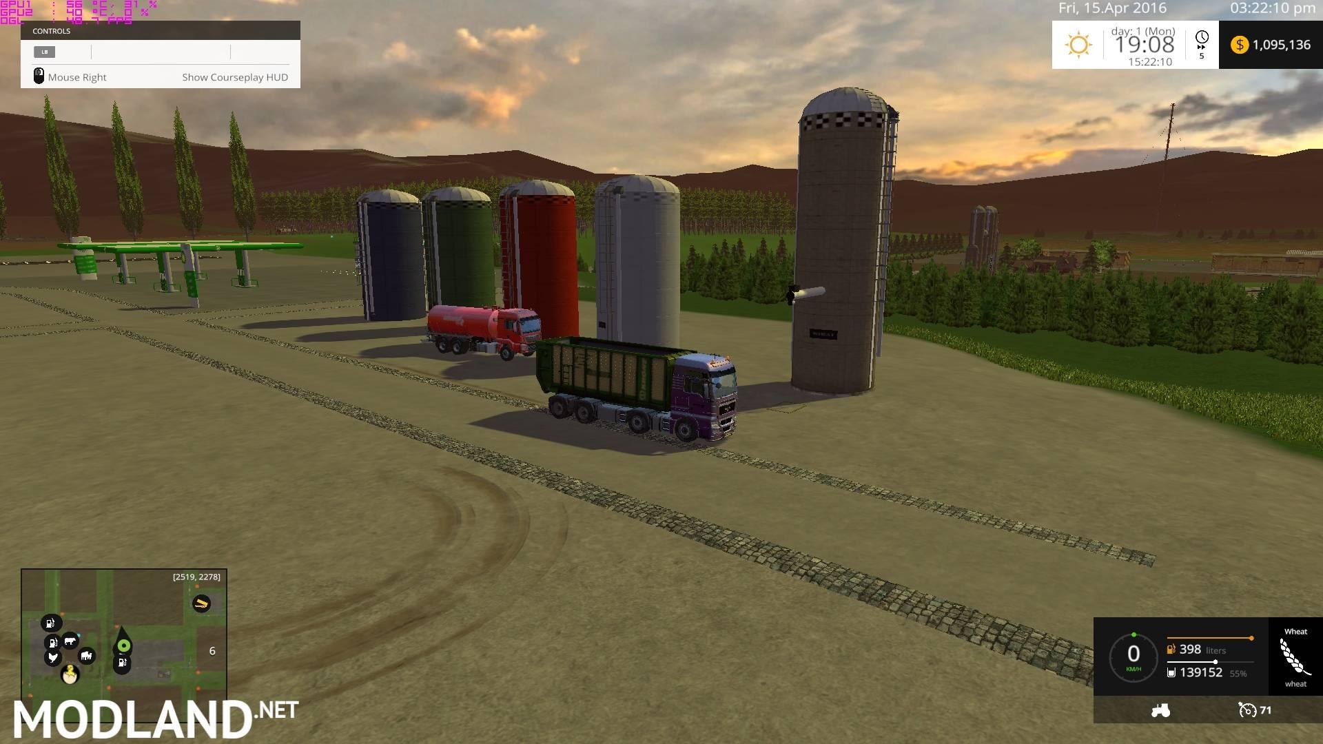 Canadian Prairies Map Ultimate v 22 mod for Farming Simulator