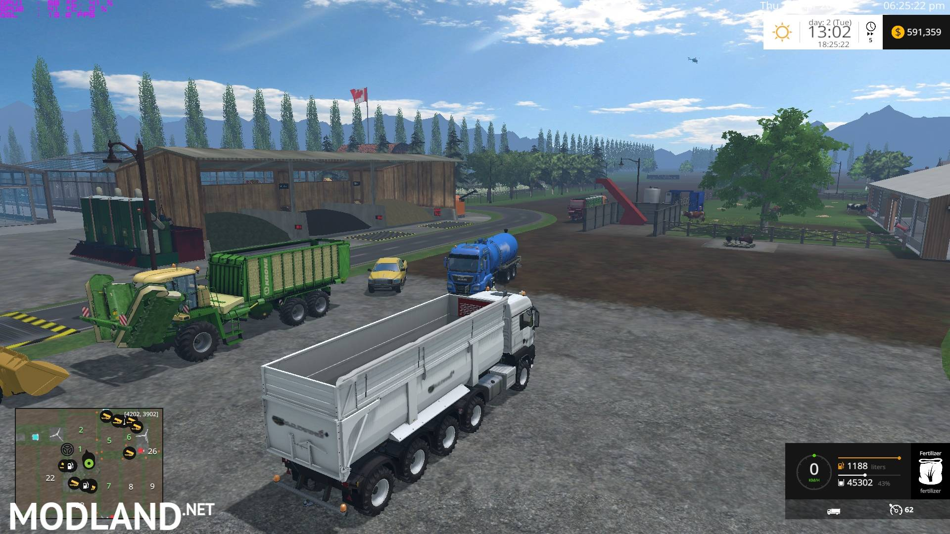 Canadian Prairies Map v 70 SoilMod mod for Farming Simulator 2015